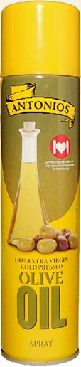 Antonios - olivový olej ve spreji