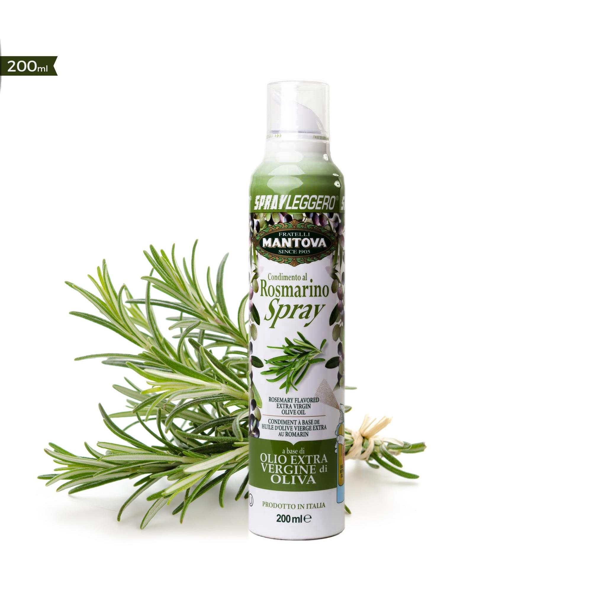 Olivový olej ve spreji Extra panenský Rozmarýn