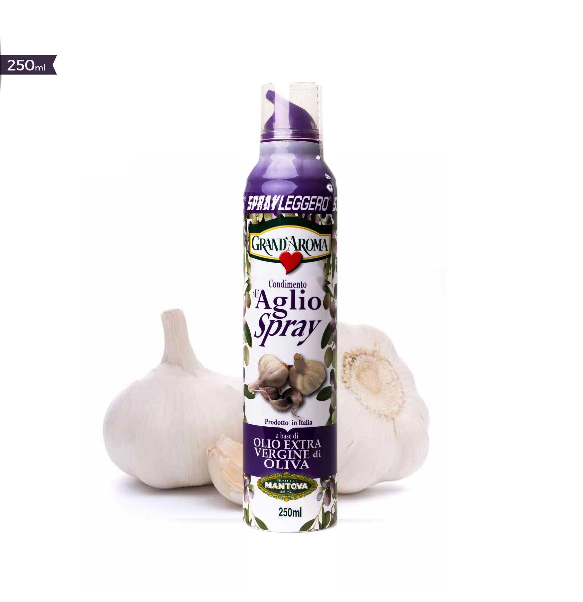 Olivový olej ve spreji Extra panenský Česnekový